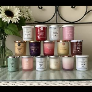 DW Home Candles - 3.8 oz each - YOUR CHOICE OF 3